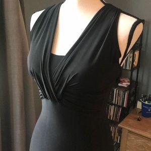 5/$25 Size Small True Light Black Mini Dress